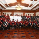 Oman arrive for UAE 2019 challenge