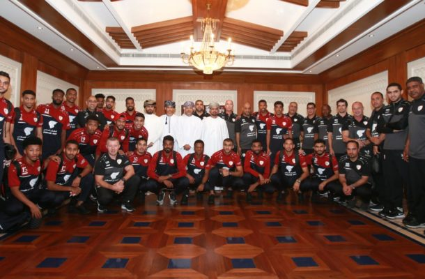 Oman arrive for UAE 2019 challenge