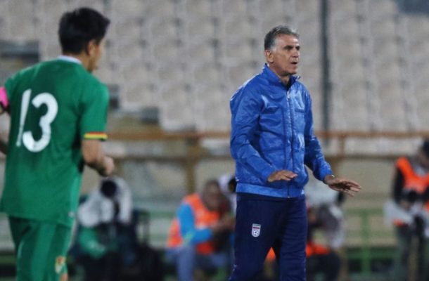 Queiroz names IR Iran squad for Doha stint
