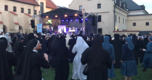 Viral Video of 'Nuns' dancing to hardcore music causes commotion online