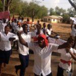 Trainee teachers welcome Jane Naana as Mahama's running mate