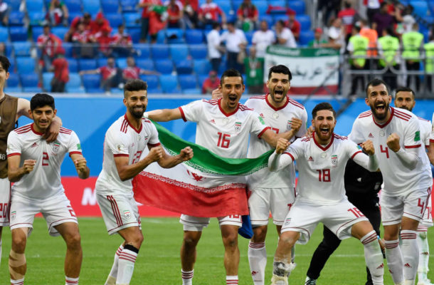 IR Iran remain as Asia's best