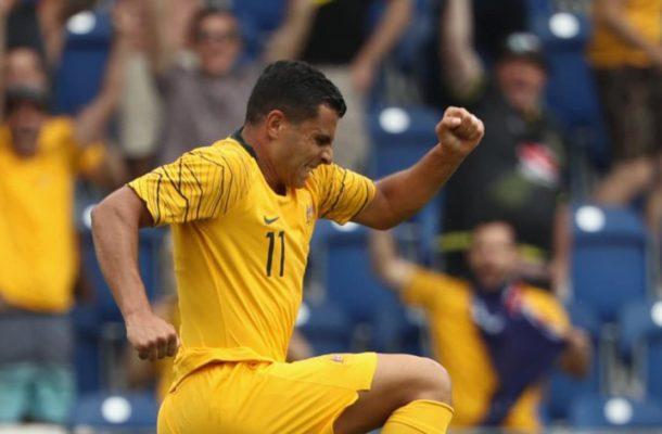 Nabbout enjoying Socceroos' brand of football