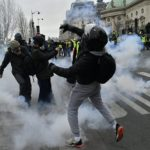 WATCH French Journo Fall Down After Allegedly Being Shot at Yellow Vests Protest