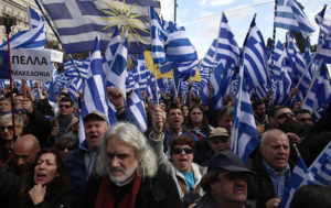 Some 60,000 Rally Against Macedonia Name Change Deal in Athens (PHOTOS, VIDEO)