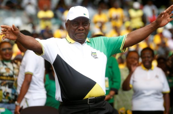 South Africa's ANC kicks off 2019 campaign vowing jobs, growth