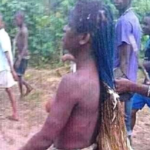 PHOTOS: Outrage as residents strip lady naked over GHC26 stolen chicken