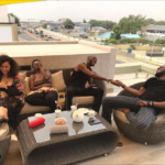 PHOTOS: Dbanj, 2face and their wives are in Ghana for double vacation
