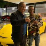 PHOTOS/VIDEO: South African billionaire rewards his 18-year-old son with a Porsche for passing matric exam