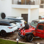 PHOTOS: 'Unperturbed' Shatta Wale shows off expensive fleet of cars; accuse Shatta Michy of doing drugs