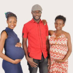 PHOTO: Man shares photo of his two heavily pregnant wives, thanks God for his 'blessings'