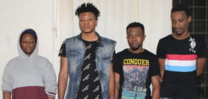 PHOTOS: Three Nigerian nationals including a lady arrested with 409 grams of cocaine in India