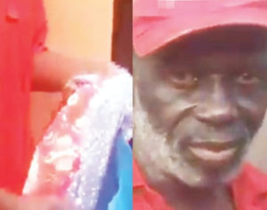 PHOTOS/VIDEO: Elderly man apprehended after stealing pants and bra