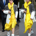 PHOTOS: Céline Dion makes another bizarre fashion statement after telling her critics to 'leave her alone'