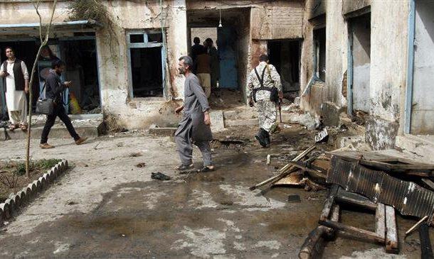 Attack on Afghan police station kills five