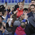 Hundreds of Barcelona fans turn up for Kevin Prince-Boateng unveiling
