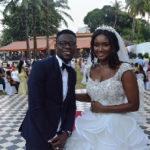 Gershon Koffie marries former Guinea beauty queen