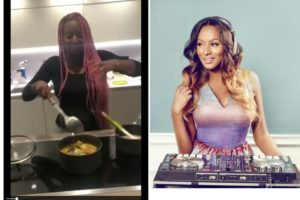 VIDEO: Billionaire daughter, DJ Cuppy shocks followers with her exceptional cooking skills