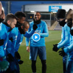 VIDEO| Barcelona players give Kevin Prince-Boateng special, warm welcome to his first training session