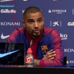 New Barca star K.P Boateng relishes opportunity to play alongside Messi and Suarez