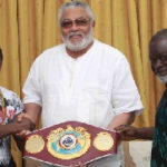 You're Ghana's 'messiah' of democracy, stability – Isaac Dogboe extols Rawlings at Ashiaman