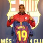 Kevin Prince-Boateng handed number 19 shirt at Barcelona- previously worn by Lionel Messi