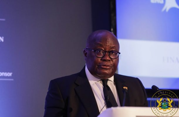 Humble yourselves and accept mistakes — Akufo-Addo to journalists