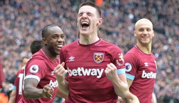West Ham United 1-0 Arsenal: Declan Rice scores winner