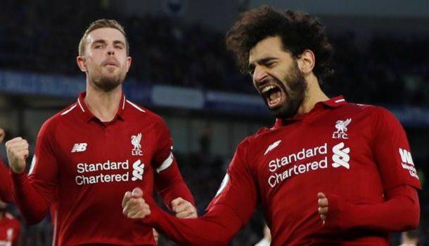 Brighton & Hove Albion 0-1 Liverpool: Mo Salah scores winner from spot