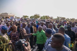 PHOTOS: Akufo-Addo arrives in Tamale for historic outdooring of new Ya Naa