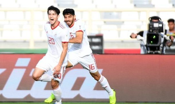 Sardar's brace sends Iran into Asian Cup knockouts