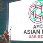 Iraqi didgeridoo musician making waves at Fan Zones
