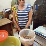 33 year old woman busted for attempting to serve inmates with 'wee stew'.