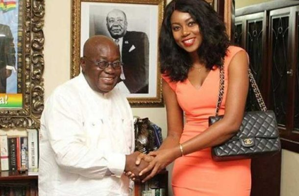 I wasted my time to visit Akufo-Addo - Yvonne Nelson