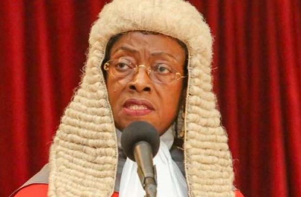 "CJ unmoved by law students demo; says Ghana needs ""quality"" lawyers; not ""mass-produced lot"""