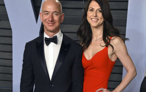 Bezos Says National Enquirer Tried to Blackmail Him With Intimate Photos