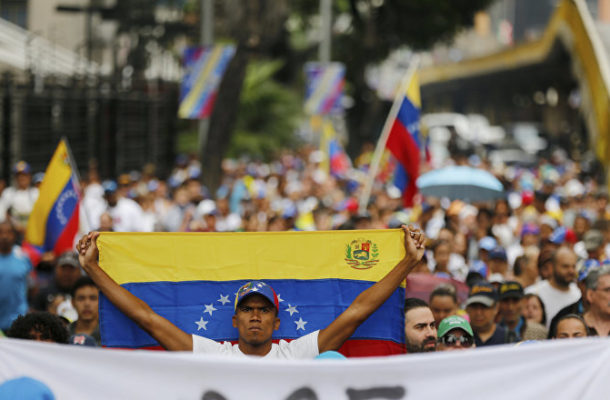 Guaido Says Humanitarian Aid to Enter Venezuela on 23 February