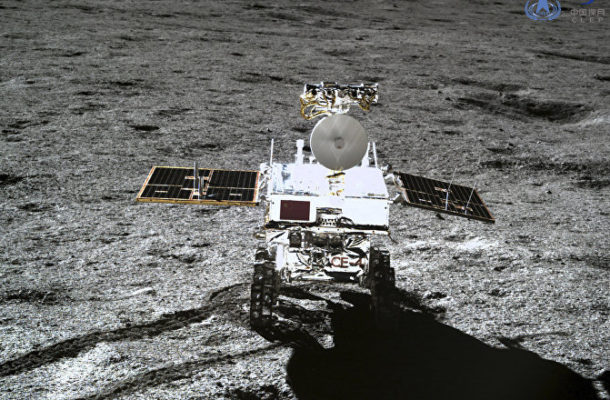 Sweet Dreams: China's Lander, Rover Power Down for Night on Moon's Far Side