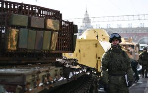 Russian Military Displays Trophies From Syria (PHOTOS)