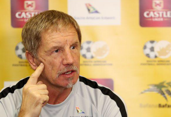 South Africa coach Stuart Baxter to quit if Bafana fail to qualify for Afcon