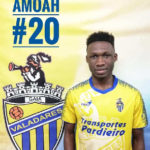 Ghanaian youngster Francis Amoah joins Valadares Gaia FC