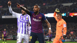 Barça assistant coach Aspiazu justifies Boateng's selection in win over Valladolid