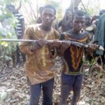 Two Fulani herdsmen arrested for stealing farmer's gun in Atebubu: