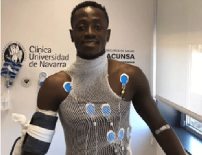 Ghana striker Emmanuel Boateng passes medical ahead of Dalian Yifang move