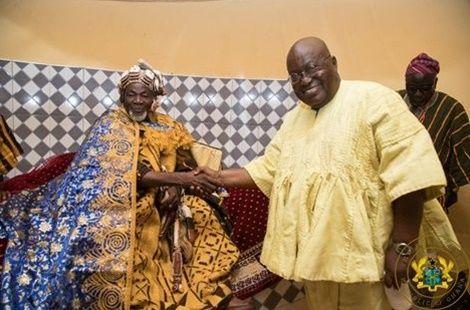 Peace in Dagbon: President of 'Kayayeis' lauds Akufo-Addo