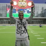 New IBF Champion Richie Commey arrives home on Thursday