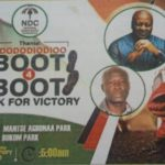 "NDC adopts ""Boot for Boot"" as 2020 theme"