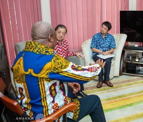 Japanese envoy visits former prez Mahama