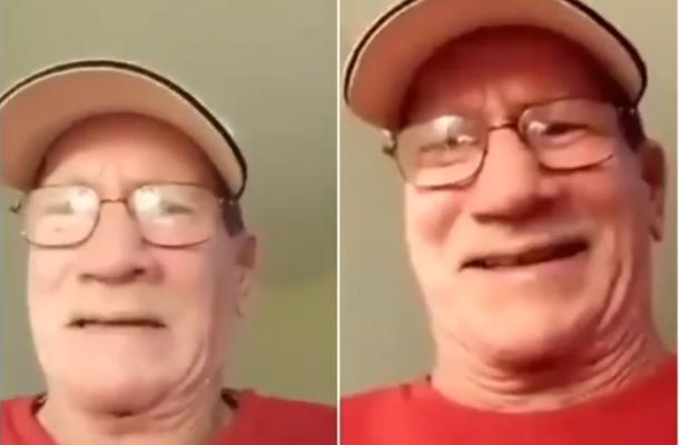 SHOCKING VIDEO: White man cries uncontrollably after 'Sakawa' boy duped him of life saving