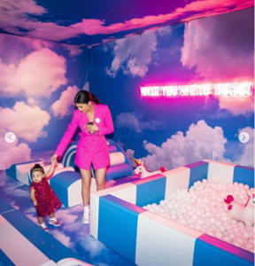 Kylie Jenner shares photos from Stormi Webster's first lavish birthday party